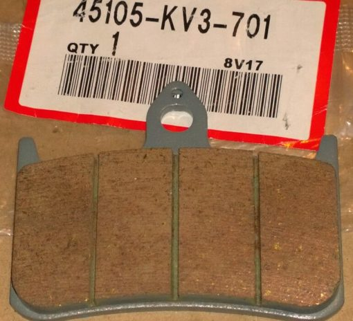 45105-KV3-701 BREMSKLOTZ KOMPL. (JBCR FF) (NISSIN)