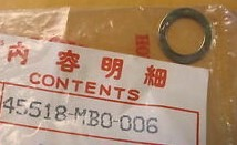 45518-MB0-006 ANSCHLAGPLATTE