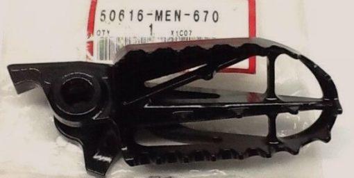 50616-MEN-670 ARM, R. FUSSRASTE