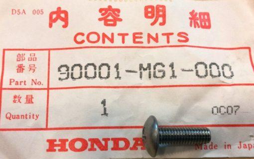 90001-MG1-000 SPEZIALSCHRAUBE, 5X16