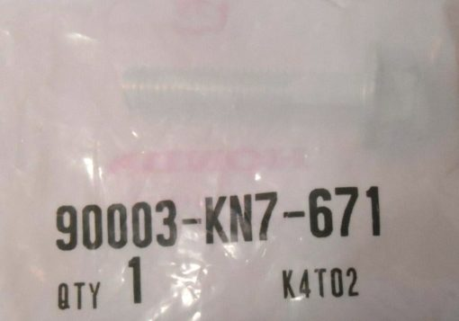 90003-KN7-671 FLANSCHENSCHRAUBE, 6X30