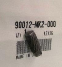 90012-MK2-000 EINSTELLSCHRAUBE,8MM