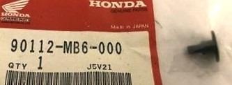 90112-MB6-000 SCHRAUBE 4X11