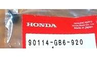 90114-GB6-920 SCHRAUBE, H. DECKEL