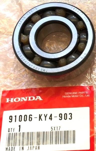 91006-KY4-903 LAGER, RADIAL KUGEL SPEZIAL 6305