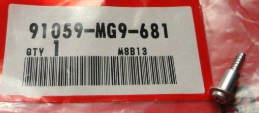 91059-MG9-681 SCHNEIDSCHRAUBE, 3X16
