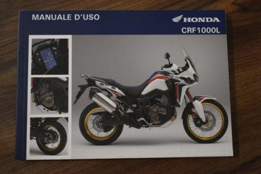 00X3L-MKK-8000 CRF1000L HONDA MANUALE D'USO