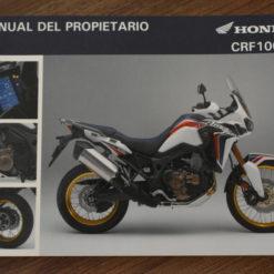 00X35-MKK-8000 CRF1000L HONDA MANUAL DEL PROPIETARIO