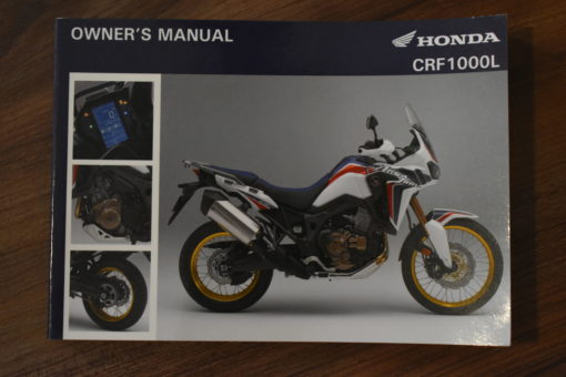 00X32-MKK-8000 CRF1000L HONDA OWNER'S MANUAL
