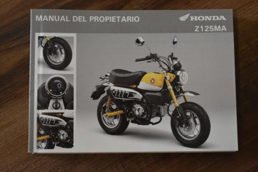 00X35-K0F-E010 Z125MA HONDA MANUAL DEL PROPIETARIO
