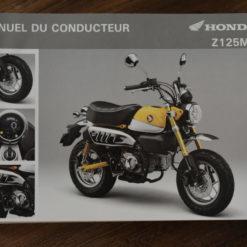 00X33-K0F-E010 Z125MA HONDA MANUEL DU CONDUCTEUR