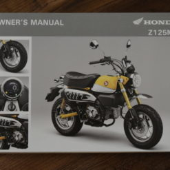 00X32-K0F-E010 Z125MA HONDA OWNER'S MANUAL