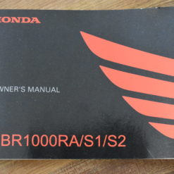 00X32-MKF-6010 CBR1000RA/S1/S2 HONDA OWNER'S MANUAL