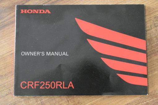 00X42-KZZ-A020 CRF250RLA HONDA OWNER'S MANUAL
