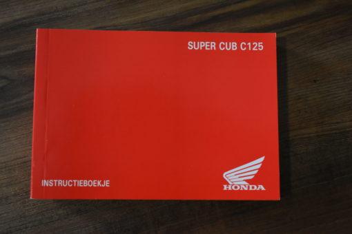 00X39-K0G-C000 SUPER CUB C125 HONDA INSTRUCTIEBOEKJE