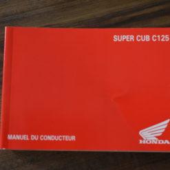 00X33-K0G-C000 SUPER CUB C125 HONDA MANUEL DU CONDUCTEUR