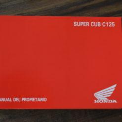 00X35-K0G-C000 SUPER CUB C125 HONDA MANUAL DEL PROPIETARIO