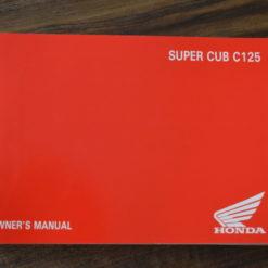 00X32-K0G-C000 SUPER CUB C125 HONDA OWNER'S MANUAL