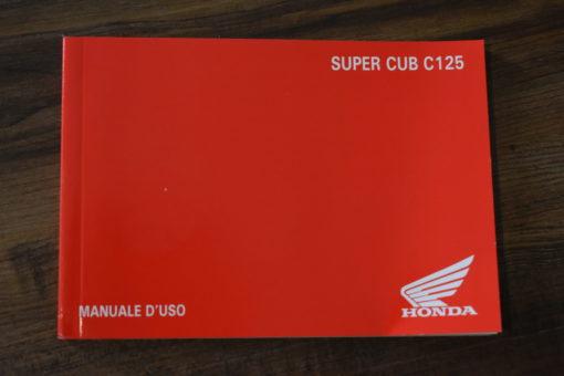 00X3L-K0G-C000 SUPER CUB C125 HONDA MANUALE D'USO