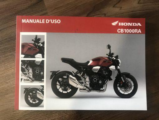 00X3L-MKJ-8000 CB1000RA HONDA MANUALE D'USO