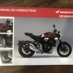 00X33-MKJ-8000 CB1000RA HONDA MANUEL DU CONDUCTEUR