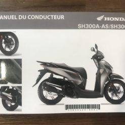 00X33-K53-L200 SH300A-AS/SH300i HONDA MANUEL DU CONDUCTEUR