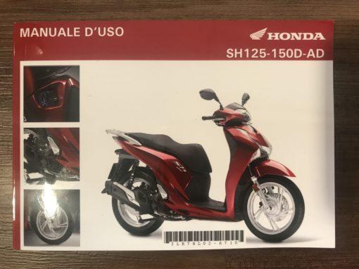 00X3L-K78-L020 SH125-150D-AD HONDA MANUALE D'USO