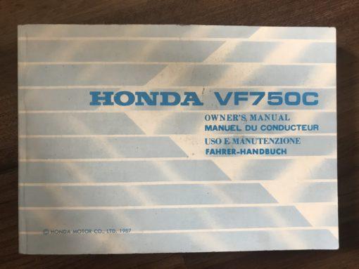 00X36-MN2-6000 VF750C HONDA MANUAL/MANUEL/MANUTENZIONE/FAHRER-HANDBUCH