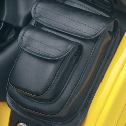 opnel PREMIUM DOUBLE Add-A-Pocket for GL1800 Goldwing (Right Side-Black) PART NO. H18AP-2BK