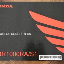 00X33-MKF-6000 CBR1000RA/S1 HONDA MANUEL DU CONDUCTEUR