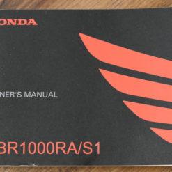 00X32-MKF-6000 CBR1000RA/S1 HONDA OWNER'S MANUAL