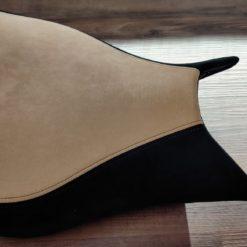 08F82-MFN-820 Black-Beige Kit Pillion Seat ALC