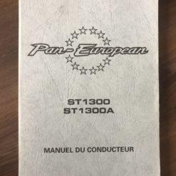 00X33-MCS-8000 ST1300/ST1300A HONDA MANUEL DU CONDUCTEUR