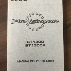 00X35-MCS-6000 ST1300/ST1300A HONDA MANUEL DEL PROPIETARIO