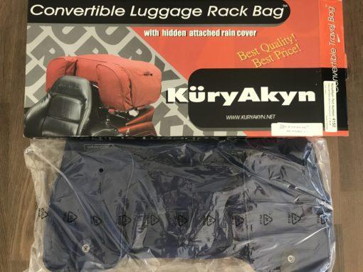KuryAkyn 4152 LUGGAGE BAG WITH RAIN COVER (Blue)