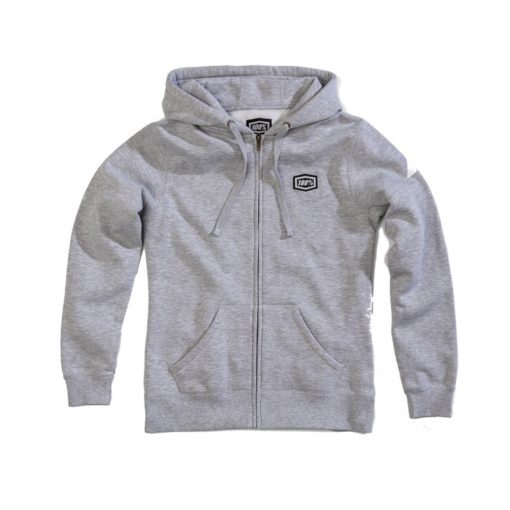 100% Cosmic Zip Frauen-Sweatshirt grau L
