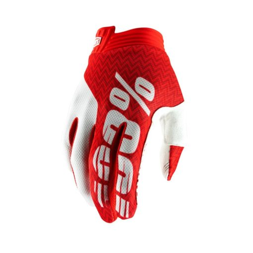 Handschuhe Itrack rot-weiss M